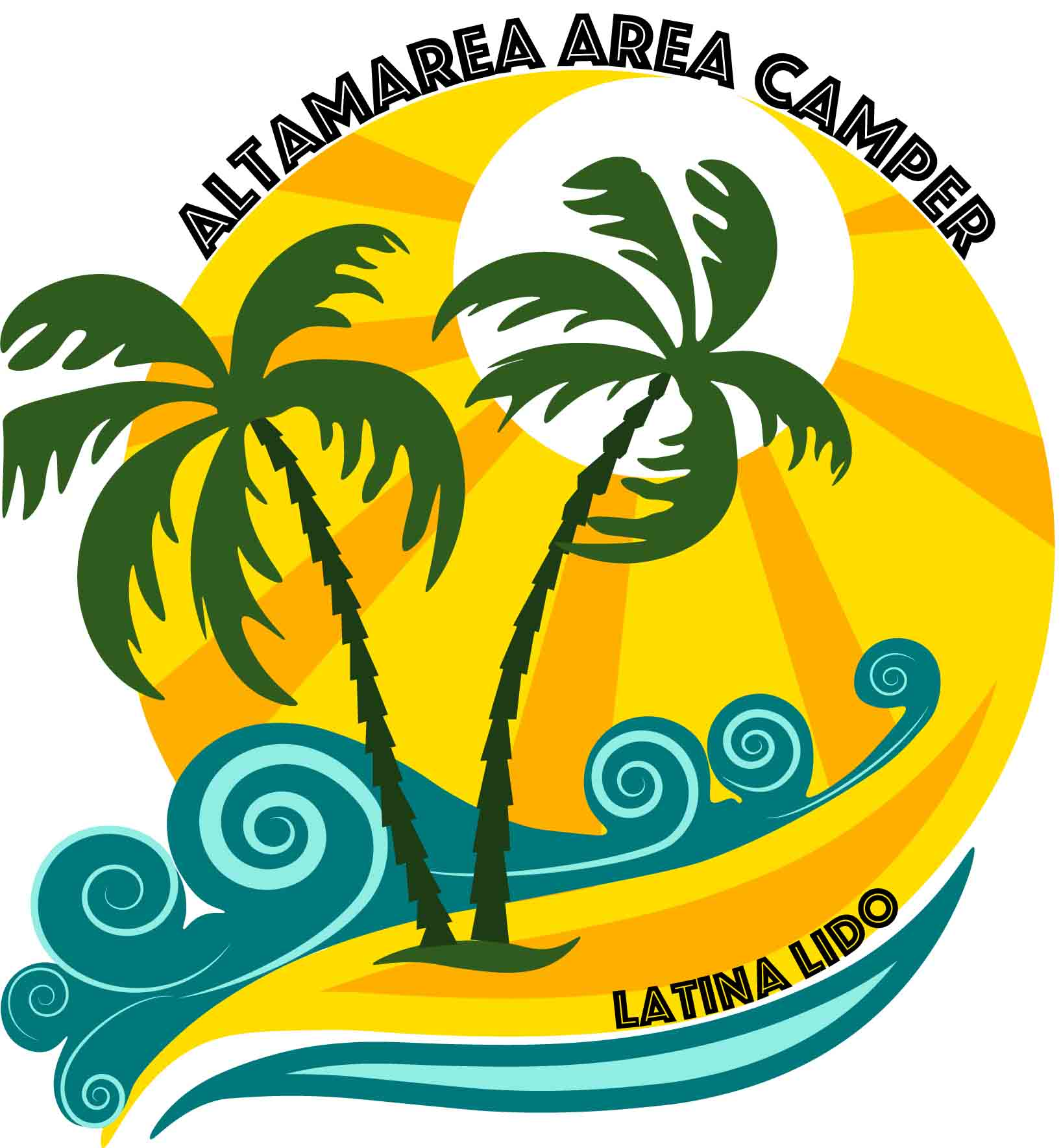 Logo altamarea area camper
